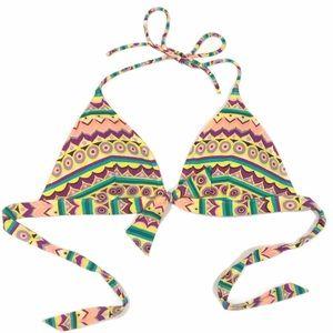 Victoria's Secret Padded Triangle Large Bikini Top